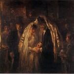 יוסף ישראלס, חתונה יהודית, שמן על בד,  1903