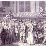 ברנאר פיקר, חתונה אשכנזית, תחריט,  1721