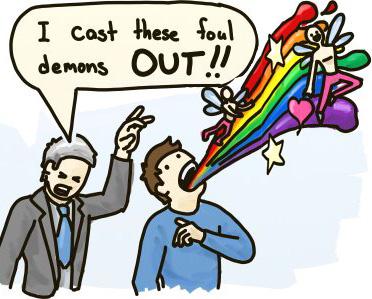 gay demons